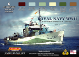 LC-CS34 Royal Navy WWII Western Approach - Late War Set 2 (22ml x 6)